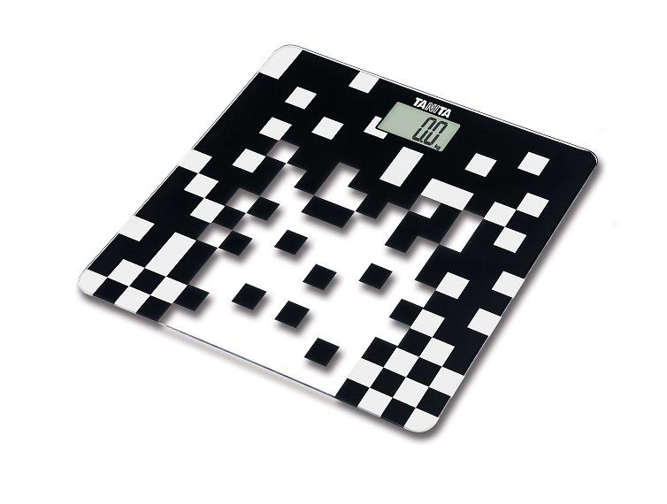 Sklenìná digitální váha Tanita HD-380 èerná